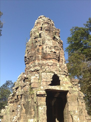 Entrance to Ta Prohm temple