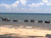 fishing boat convoy at Mui Ne: by houdyman, Views[752]