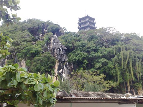 Temple at Marble Mountain outside Hoi An