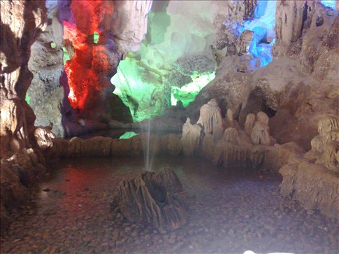 geyser in the cave(a little one)