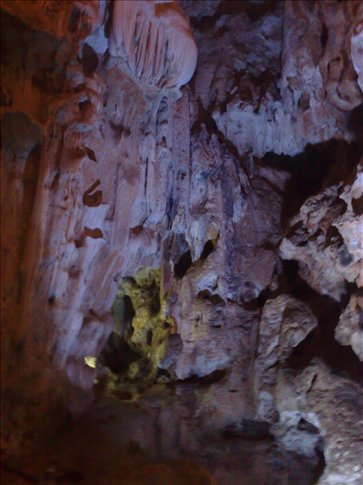 inside the first cave