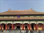 Forbidden City-=one of many halls: by houdyman, Views[230]