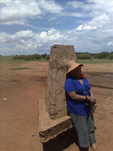 border point between Tanzania and Kenya