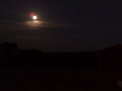 full moon over Maasi Mara
