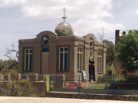 church where the ark of the covenant is supposed to reside-according to ethiopian christians