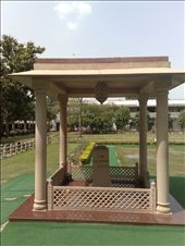 spot where Ghandi was assassinated: by houdyman, Views[208]