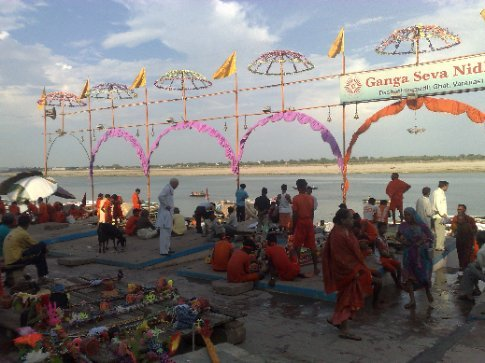 festival at the ghat