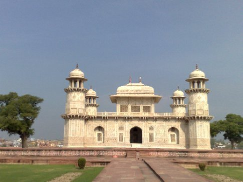 the 'Baby Taj'-used as a model for the main Taj Mahal and built 20 years before