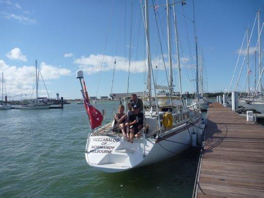Arrival at La Rochelle
