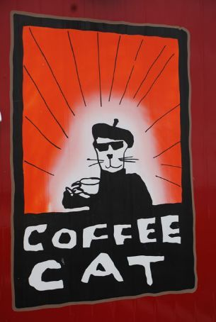 Coffee Cat coffee is yum!