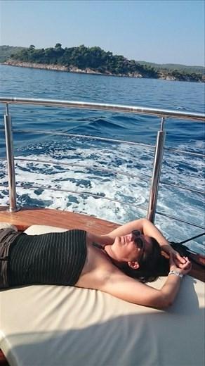 Boat Voyage To Mount Athos