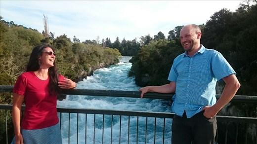 Amazing Huka Falls
