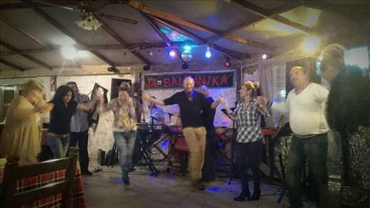 First night - Balkan dancing