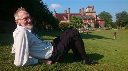 Relaxing at Standen House