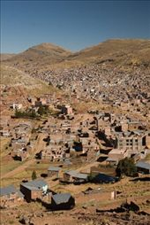 The city of Puno is more attractive from above than from within, but it was nicer than other travellers had warned us it would be.: by iainjosim, Views[146]
