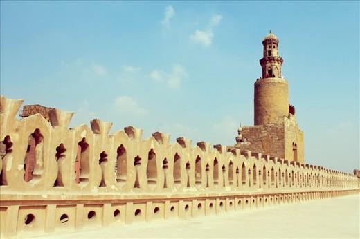 Ibn Tolon Mosque in Cairo.
