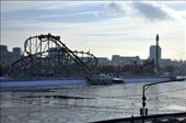 I follow the Moskva down to Gorky park, listening to the wind of change. Gorky Park, view from Krymsky bridge : by indotraveler, Views[837]