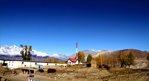 This is Mountn village in nepal.muktinath