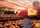 Silent 'panata' (vows) filled the promenade as each devotee cling to their faith: by iolemarie, Views[109]