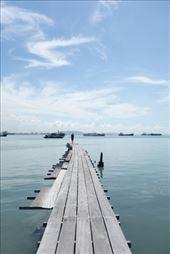 Overpeinzingen op de pier: by irko_mirjam, Views[80]