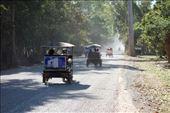 Op de wegen tussen de ruines was het soms een komen en gaan van tuktuks: by irko_mirjam, Views[135]