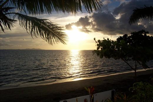 view from denaro island resort