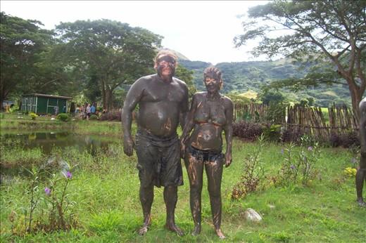 mud pools