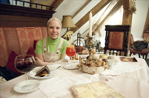 Sweets in Sighisoara
