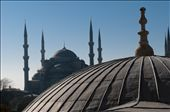 A view of  the Blue Mosque from the first floor of Agia Sophia in Istanbul: by istanbul_turkey, Views[116]