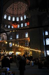 WORSHIPPING LIFE .... only the men in Istanbul are allowed into the mosque to worship their