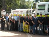 Combined Hills volunteer fire fighters truck driving course 2008: by itchyfeet1, Views[224]