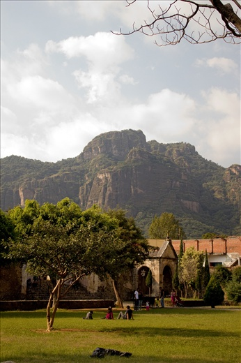 Tepoztlán is a magic place in Morelos, México. A small town with great beliefs