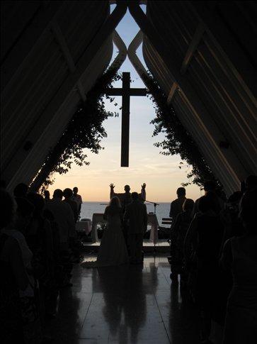 Wedding at La Capilla de Los Alcatraces Overlooking the Caribbean