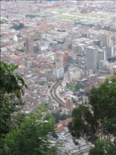 A view of Bogota as we approach the top of Cerro de Monserrate.: by ivan_miral, Views[499]