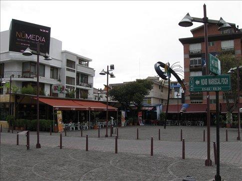 Mariscal Neighborhood in New City, Quito