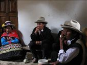 Our Vicos friends hitting hard their bags of Coca leaf: by ivan_miral, Views[1960]