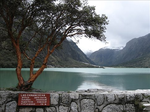 Laguna Chinancocha, neighboring Laguna Orconcocha