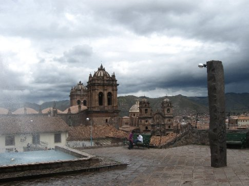 View of the Cathedral of Cusco