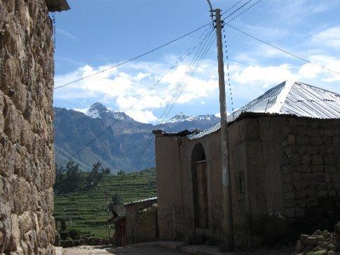 Cabanaconde street view