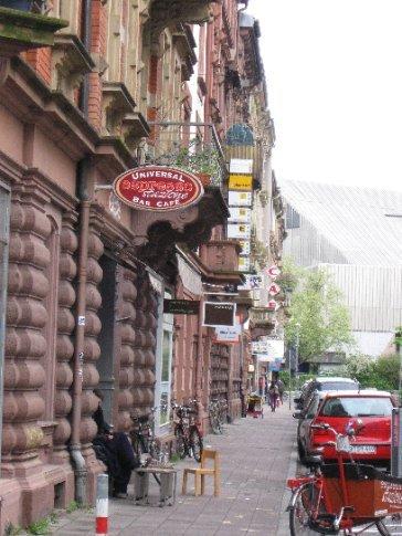 Karlsruhe street scene