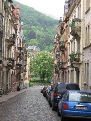 Heidelberg street scene