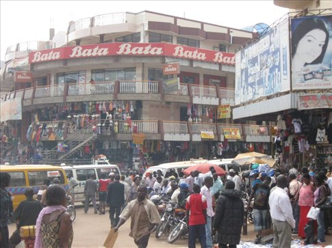 The wildly chaotic streets of Kampala -- the capital of Uganda