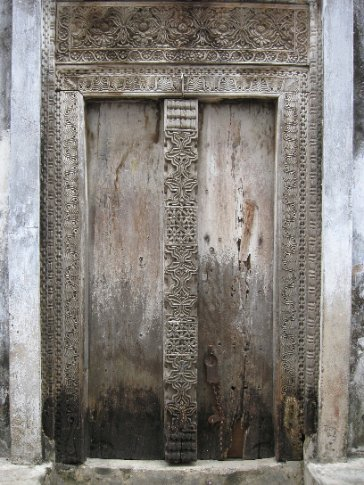 Stone Town in Zanzibar is famous for its beautiful doors, many of which reflect the unique mix of Swahili, Indian, and Arab cultures that makes Zanzibar so unique.