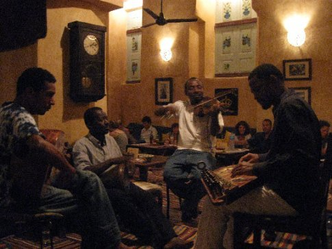 A sweet night of Taarab music at the Swahili restaurant where we celebrated the half-way point in our journey (Thanks Rick and Maureen!!). Taarab is originally from Egypt and was brought to Zanzibar long ago.