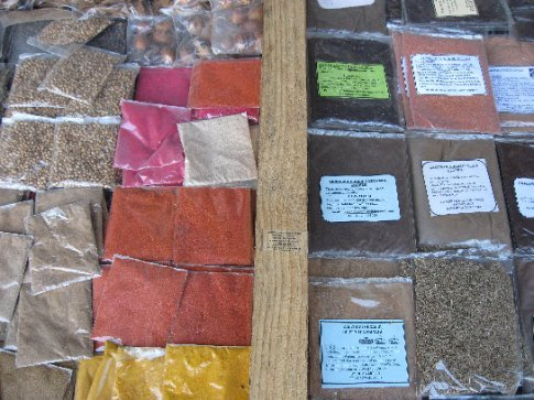 Spices, spices, spices!!! Zanzibar is historically famous for its spice trade.