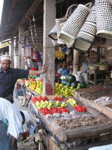 All over Zanzibar are men in fez caps, reflecting the rich Arab influence in the area.