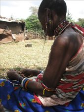 Due to rising need to supplement their families' incomes, women are now making and selling jewelry traditionally used only within the Maasai community.: by ivan_miral, Views[455]