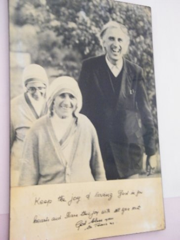 One of my favorite pictures - Mother Teresa, founder of the Missionaries of Charity & Jean Vanier, co-founder of l'Arche