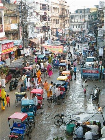 Haridwar held a beautiful combo -- spirituality, but also classic Indian chaos!