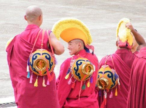It seemed like each monk at Gyutoe Monastery exuded a palpable level of joy.